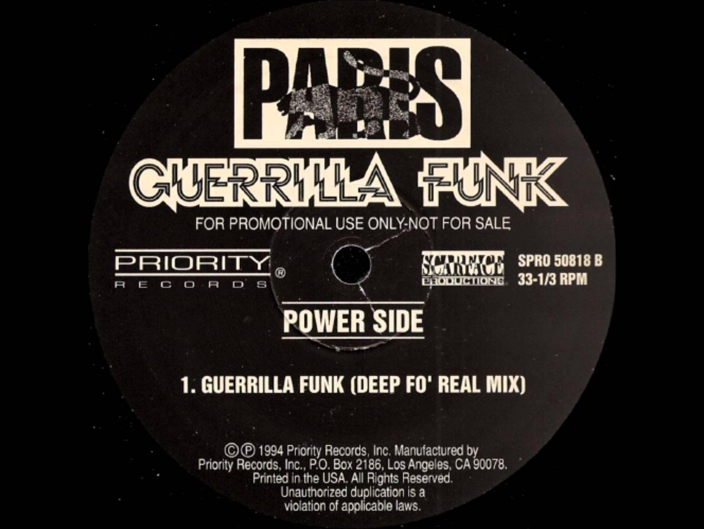 Paris – Guerrilla Funk (Deep Fo' Real Mix)