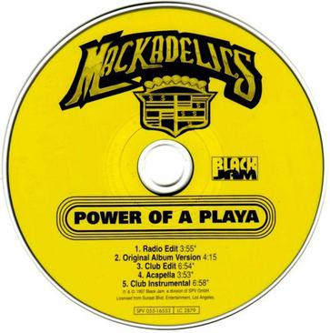 Mackadelics – Power of a Playa