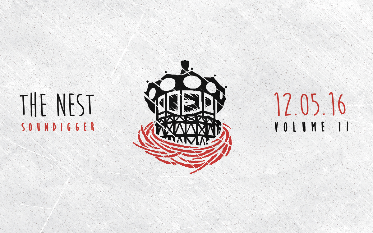 The Nest Vol.2 • La compilation 100% Made in Nantes