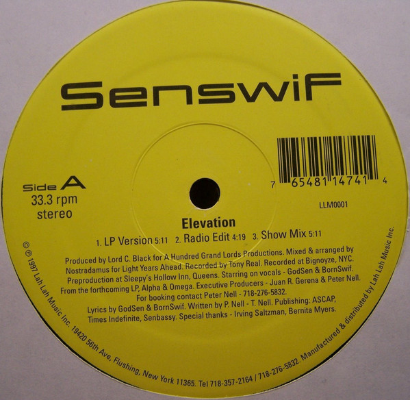Senswif – Elevation