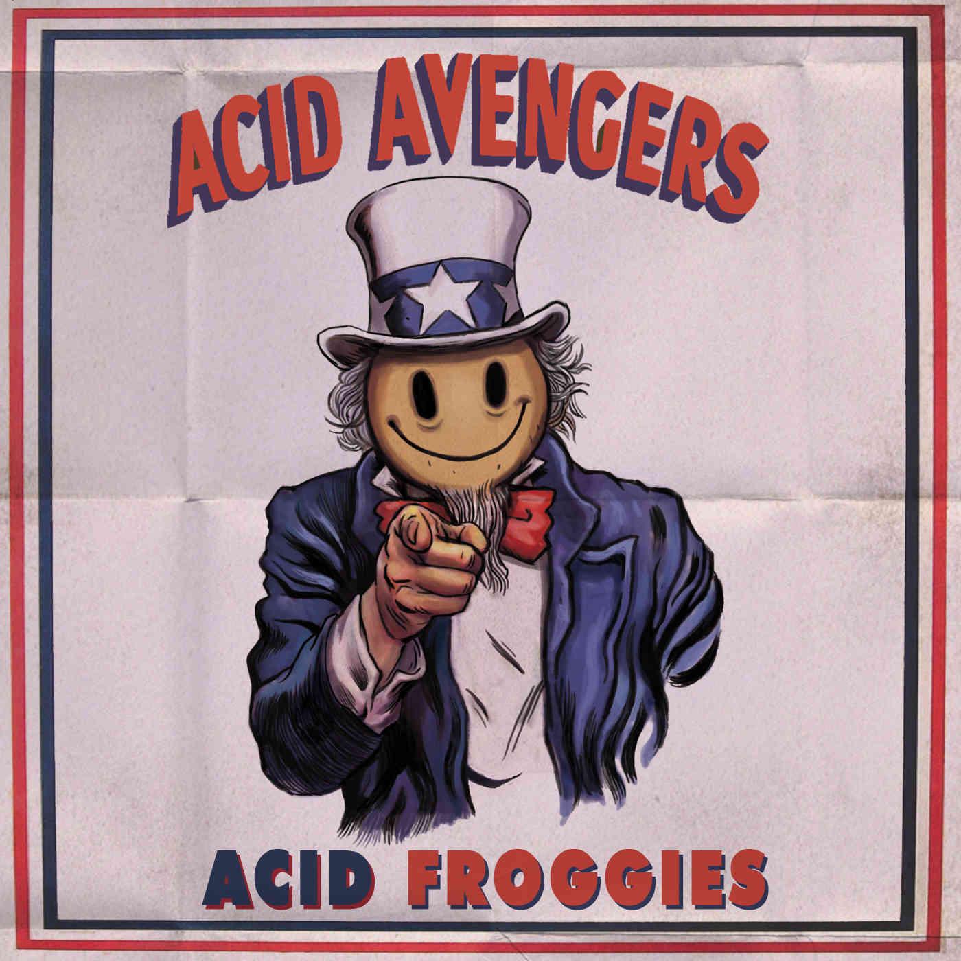(Re)Découvrez les meilleurs représentants de la scène acid française dans une compilation