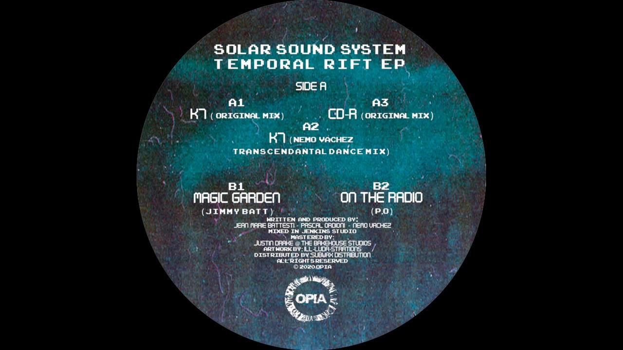 Solär Sound System – K7